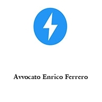 Avvocato Enrico Ferrero