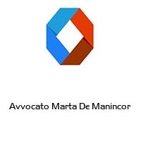 Avvocato Marta De Manincor