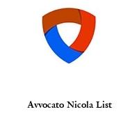 Avvocato Nicola List