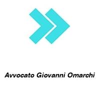 Avvocato Giovanni Omarchi