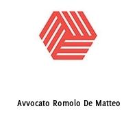 Avvocato Romolo De Matteo