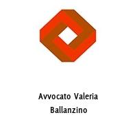 Avvocato Valeria Ballanzino