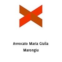 Avvocato Maria Giulia Marongiu