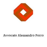 Avvocato Alessandro Porro