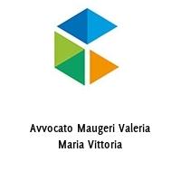 Avvocato Maugeri Valeria Maria Vittoria