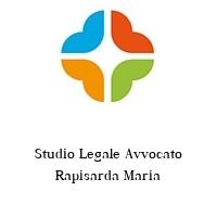 Studio Legale Avvocato Rapisarda Maria