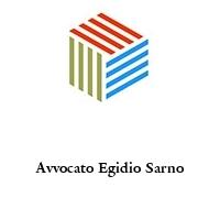 Avvocato Egidio Sarno