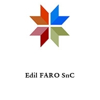 Edil FARO SnC