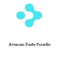 Avvocato Paolo Persello