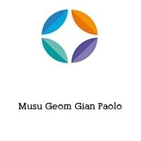 Musu Geom Gian Paolo