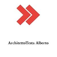 ArchitettoTesta Alberto
