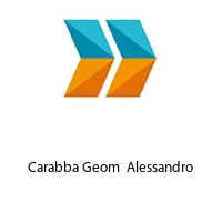 Carabba Geom  Alessandro