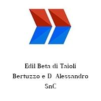 Edil Beta di Taioli Bertuzzo e D  Alessandro SnC
