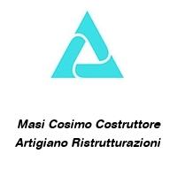 Masi Cosimo Costruttore Artigiano Ristrutturazioni