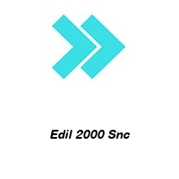 Edil 2000 Snc
