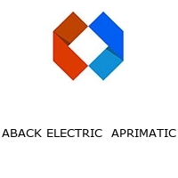 ABACK ELECTRIC  APRIMATIC