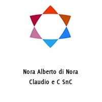 Nora Alberto di Nora Claudio e C SnC