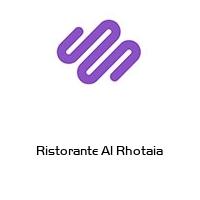 Ristorante Al Rhotaia