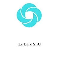 Le Erre SnC