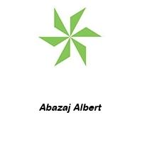 Abazaj Albert