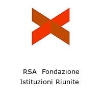 RSA  Fondazione Istituzioni Riunite