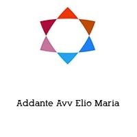 Addante Avv Elio Maria