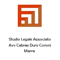Studio Legale Associato Avv Cabras Duro Coroni Marra
