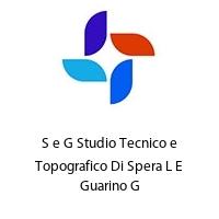 S e G Studio Tecnico e Topografico Di Spera L E Guarino G