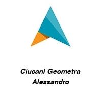 Ciucani Geometra  Alessandro