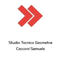 Studio Tecnico Geometra Cecconi Samuele