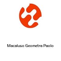 Macaluso Geometra Paolo