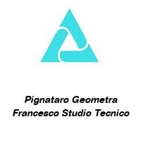 Pignataro Geometra Francesco Studio Tecnico