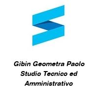 Gibin Geometra Paolo Studio Tecnico ed Amministrativo