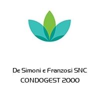 De Simoni e Franzosi SNC CONDOGEST 2000