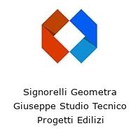 Signorelli Geometra Giuseppe Studio Tecnico Progetti Edilizi