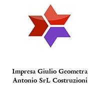 Impresa Giulio Geometra Antonio SrL Costruzioni