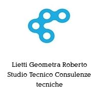 Lietti Geometra Roberto Studio Tecnico Consulenze tecniche