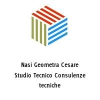 Nasi Geometra Cesare Studio Tecnico Consulenze tecniche