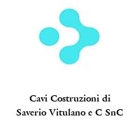 Cavi Costruzioni di Saverio Vitulano e C SnC
