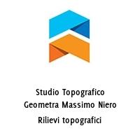 Studio Topografico Geometra Massimo Niero Rilievi topografici