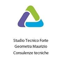 Studio Tecnico Forte Geometra Maurizio Consulenze tecniche