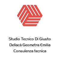 Studio Tecnico Di Giusto Dellacà Geometra Emilia Consulenza tecnica