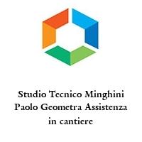 Studio Tecnico Minghini Paolo Geometra Assistenza in cantiere