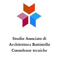 Studio Associato di Architettura Battistello Consulenze tecniche