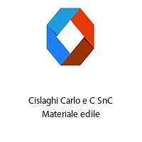 Cislaghi Carlo e C SnC Materiale edile