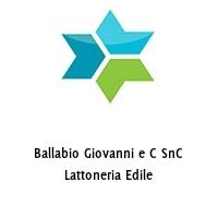 Ballabio Giovanni e C SnC Lattoneria Edile