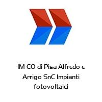 IM CO di Pisa Alfredo e Arrigo SnC Impianti fotovoltaici
