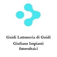 Guidi Lattoneria di Guidi Giuliano Impianti fotovoltaici