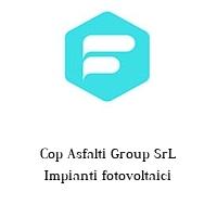 Cop Asfalti Group SrL Impianti fotovoltaici