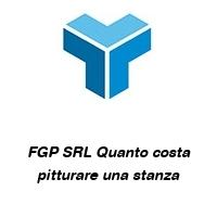 FGP SRL Quanto costa pitturare una stanza